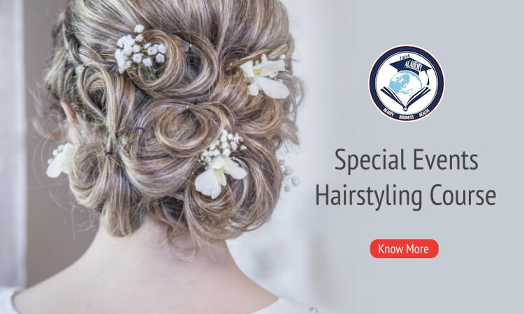 Special Events Hairstyling Course in Toronto