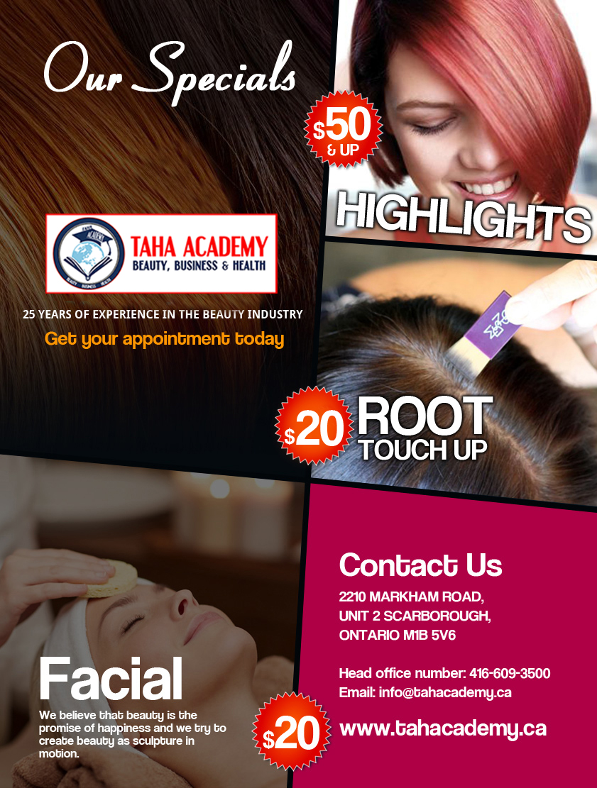 Special Offers - TAHA Academy