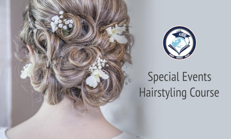 Special Events Hairstyling Course - TAHA Academy